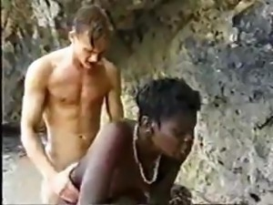 German Tourist Fucks African Chick