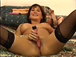 Roxy play with her toys, sucks cock & gets a huge facial