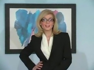 Nina Hartley Pantyhose Tease