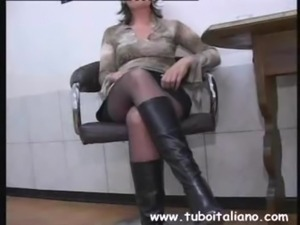 Italian Wife Thresome Moglie vu ... free