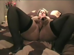 Katja 35 years blonde married milf. My first self recorded home movie while...