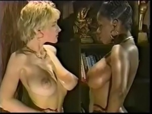 Ebony Ayes and Danni Ashe - Wrestling