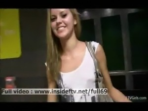 Amateur blonde acting naughty a ... free