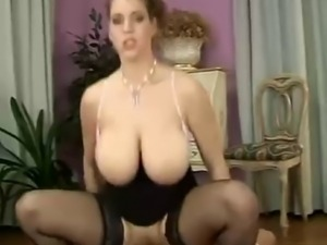 Big Tit Secretary In Stockings & Heels Banged