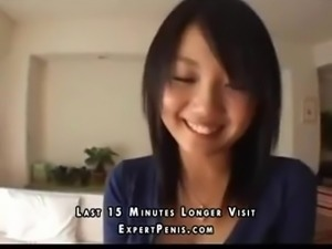 asian girl  loved and shy to fucked