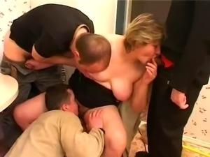 big tits Alina in another banging session