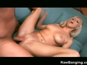 We have this blonde babe getting fucked hard in this scene. Watch as she...