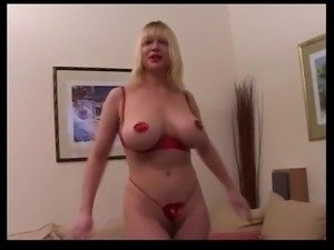 French Big Boobs Blonde Mature Anal