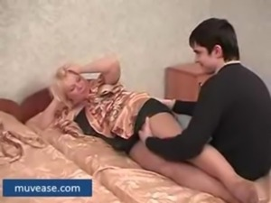 Chubby Mature Mother Gets Hard  ... free