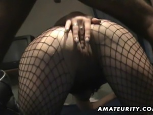 A very nasty amateur girlfriend homemade hardcore action with anal, blowjob...