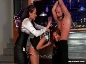 Mistress Dominates Submissive Couple