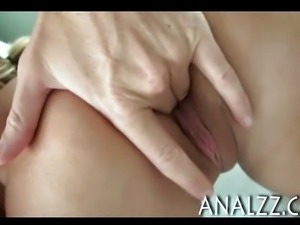 Perky titted girlfriend painful anal sex