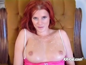 Beautiful Redhead Lactating PT 1