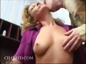 Fucking the mom pussy licking blonde blowjob riding double penetration anal...