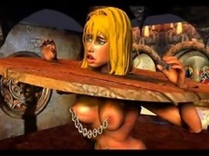 classic huge breast bdsm art