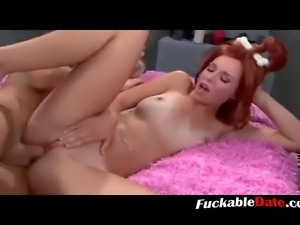 Stone age  porn movie young redhead girl gets fucked by a blonde guy