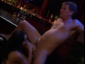 Slut with nice jugs getting fucked