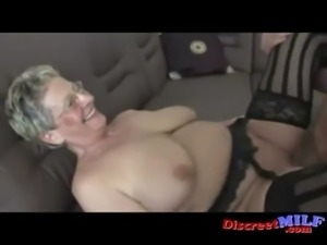 Filthy Euro Granny With Glasses Gets Fucked free