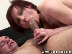 Mature stockings MILF getting pussy fucked