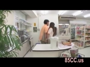 cute convenience store staff fucked by boss 01 free