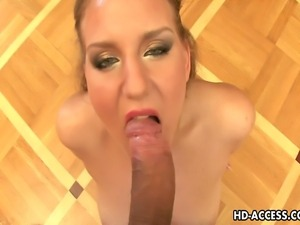 This blond chick here is so damn fine and here you will be seeing her in some...
