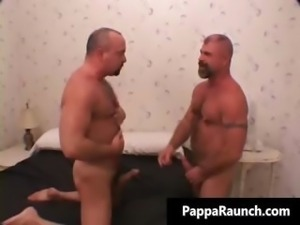 Hot sexy mature tight body gay gives part1