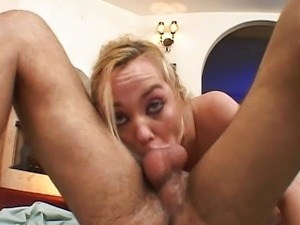 Naughty sucking Annette Schwarz