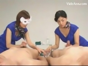 Asian Girl Learning How To Give Handjob free