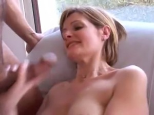 Cheating french wife and husband's co-workers - Orphea Belle