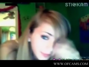 Angelic face cute college girl on her webcam  exgirlfrieng boaz sluts deviant...