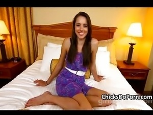 Melissa king miss teen in her first time