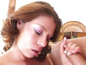Stroking session