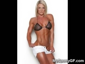 The Hottest Muscled Girls!
