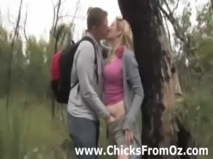 Amateur guy licks girlfriends cunt outdoors free