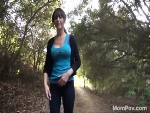 Nasty milf dogged outdoors in the forest free