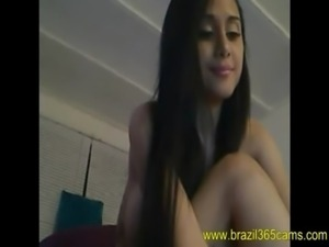 Latina fresh pussy for camera - www.Brazil365cams.com free