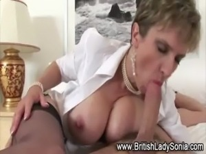 Lady Sonia pounded hard free