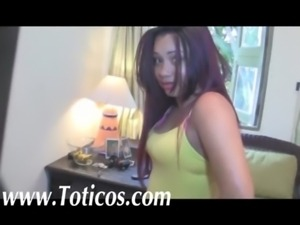 Toticos.com Dominican latina POV - real dominican street girls free