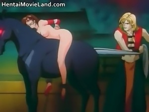 Amazing anime movie with sucking stiff part5
