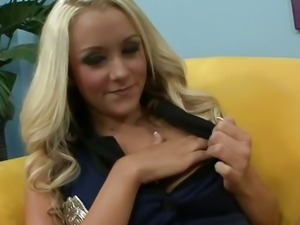 Hot Blonde Brandi Do A Good Tit Fuck