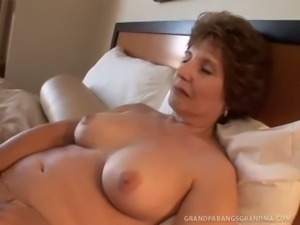 Old granny amy lynn craves hard cock