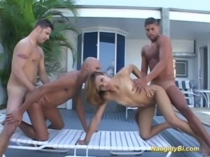 Naughty bisexual hard fuck sex free