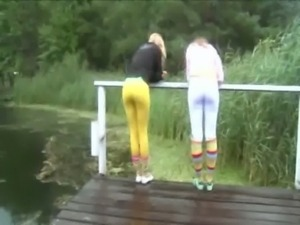 Young schoolgirl masturbate outdoors free