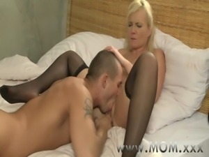 MOM Blonde MILF's and their lovers free