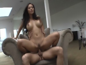 Hot asian milf squirting on big cock