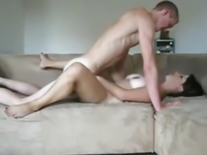Nerdy Girl Moans Like Crazy In Her Sextape