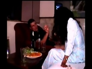 Amateur Indian Hooker and European Guy