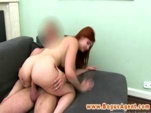 Real sex auditions with amateur ginger free