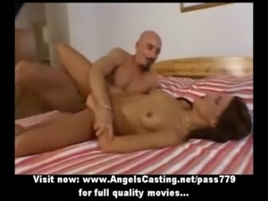Hot naked redhead fucked hard in different positions and does blowjob free