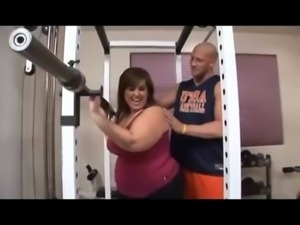 Short round BBW fucked by her sport instructor free